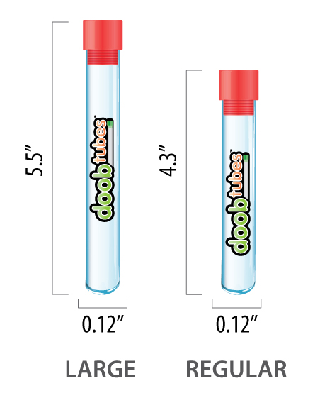 Doob Tube Sizes